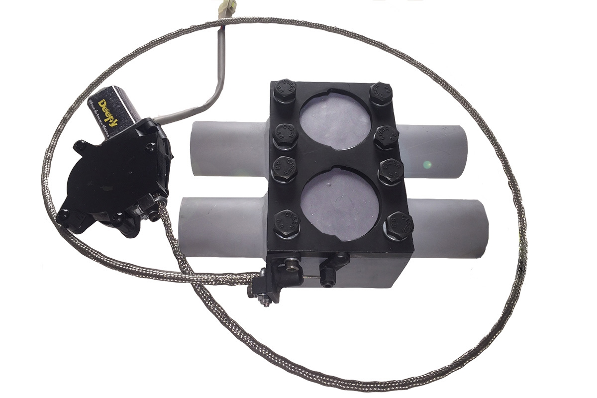 Kit Deepy H Borboleta 2'5 Inox com Controle Remoto