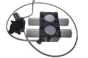 Kit Deepy H Borboleta 2' Inox com Controle Remoto