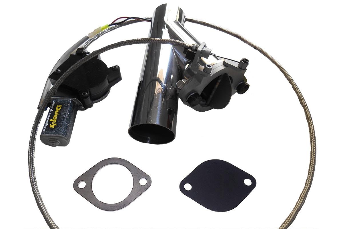 Kit Deepy 1 Borboleta 2'5 Inox com Controle Remoto