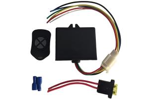 Kit Deepy 1 Borboleta 3' Inox com Controle Remoto