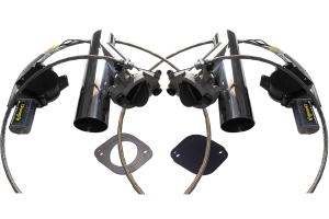 Kit Deepy 2 Borboletas 2'5 Inox com Controle Remoto