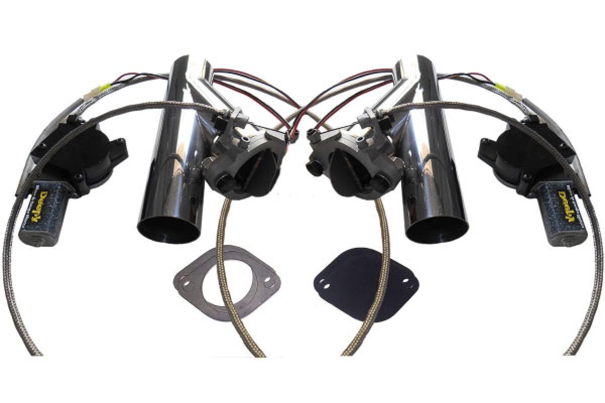 Kit Deepy 2 Borboletas 3' Inox com Controle Remoto